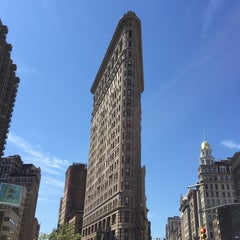 Photo taken at Flatiron Building by Andreas K. on 8/22/2015