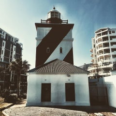 Photo taken at Green Point Lighthouse by Simon L. on 10/21/2015
