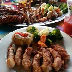 Photo taken at Mariscos Tino's by Cesar Emmanuel V. on 11/27/2012