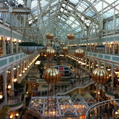 Photo taken at St Stephen's Green Shopping Centre by Gustavo T. on 12/23/2012