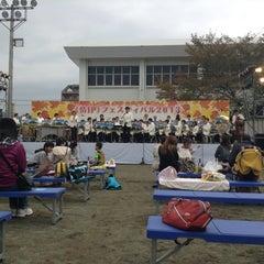 Photo taken at 日立グラウンド by H K. on 11/2/2013