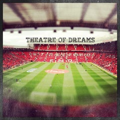 Photo taken at Old Trafford by Ahmad I. on 5/12/2013
