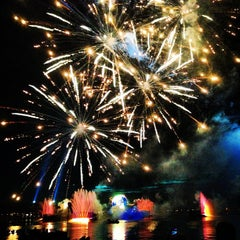 Photo taken at IllumiNations: Reflections of Earth by Adolfo C. on 2/26/2013