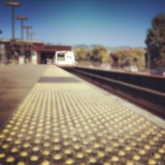 Photo taken at Rockridge BART Station by Dave M. on 9/17/2012