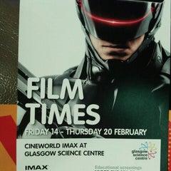 Photo taken at Cineworld IMAX by Gabriela B. on 2/15/2014