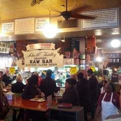 Photo taken at Faidley's Seafood & Fresh Fish Market by Tony T. on 11/17/2012