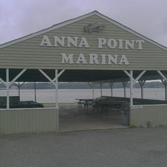 Photo taken at Anna Point Marina by Veronica P. on 6/30/2013