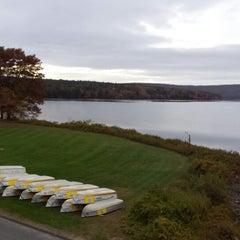 Photo taken at Quabbin Reservoir Visitor Center by Patrick B. on 10/16/2013