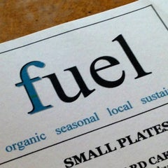 Photo taken at Fuel Cafe by Sherri M. on 3/21/2013