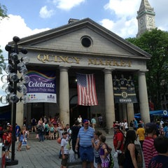 Photo taken at Faneuil Hall Marketplace by Eric on 5/30/2013