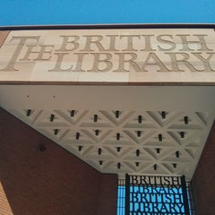Photo taken at British Library by Sebastian A. on 7/19/2013