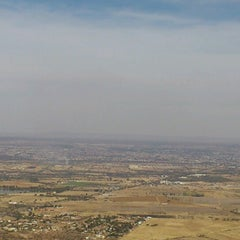Photo taken at Cerro del Picacho by Giovani G. on 12/28/2012