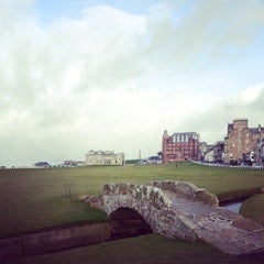 Photo taken at The Old Course St Andrews by Corum C. on 3/10/2013