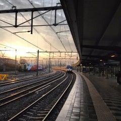 Photo taken at Station Amsterdam Muiderpoort by Erik V. on 11/20/2012