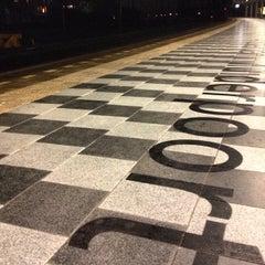 Photo taken at Station Amsterdam Muiderpoort by Erik V. on 11/26/2012