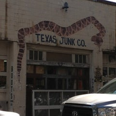 Photo taken at Texas Junk Co. by Christopher S. on 3/15/2013