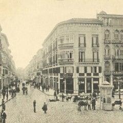 Photo taken at Calle Marqués de Larios by Daniel L. on 10/23/2012