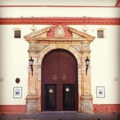 Photo taken at Parroquia de la O by Daniel L. on 4/10/2013
