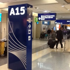 Photo taken at Gate A15 by Herman on 4/15/2014