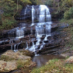 Photo taken at Pearson's Falls by Roger Y. on 10/19/2012