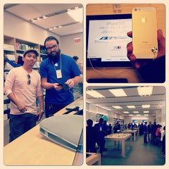 Photo taken at Apple Store, Stonestown by Cris T. on 10/16/2013