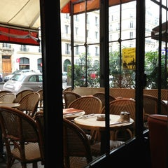 Photo taken at Café le Soufflot by Terri on 5/20/2013