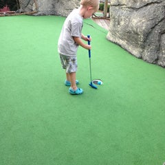 Photo taken at Professor Hackers Lost Treasure Golf by Kelly D. on 8/3/2013