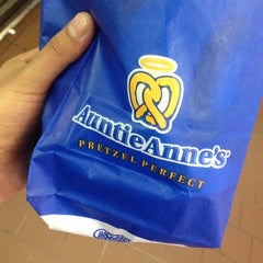Photo taken at Auntie Anne's by Johnny on 4/26/2014