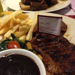Photo taken at SteakHotel by Holycow! by diah rani p. on 5/5/2015