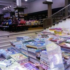 Photo taken at Fajar Agung Book Store by Hariyadi S. on 6/8/2013