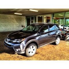 Photo taken at Wilsonville Toyota by Jon on 4/21/2013