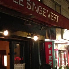 Photo taken at Le Singe Vert by Mark S. on 4/10/2013