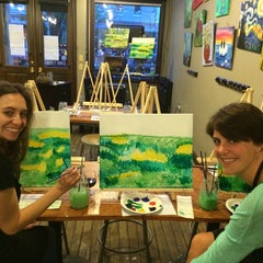 Photo taken at Sipping N' Painting by Hannah K. on 5/18/2014