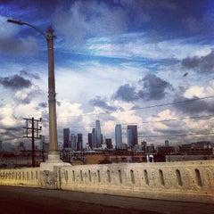 Photo taken at Sixth Street Bridge by Thomas A. on 10/11/2012