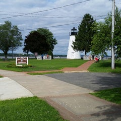 Photo taken at Concord Point and Lighthouse by Christina B. on 6/28/2015