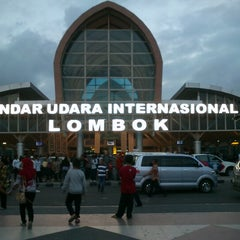 Photo taken at Lombok International Airport (LOP) by Sendy K. on 9/29/2012
