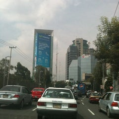 Photo taken at Cda. Constituyentes by Fabian on 10/10/2012