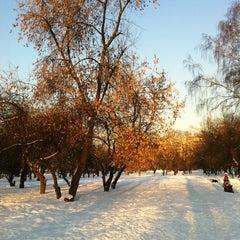 Photo taken at Природно-исторический парк «Кузьминки-Люблино» by Svetlana F. on 3/5/2013