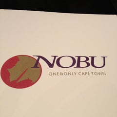 Photo taken at Nobu by Gabriela S. on 2/24/2013
