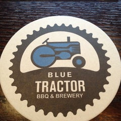 Photo taken at Blue Tractor BBQ & Brewery by Conor on 5/11/2013