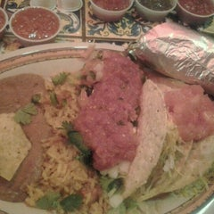 Photo taken at Rosa's Cafe Tortilla Factory by Daniel W. on 10/17/2012