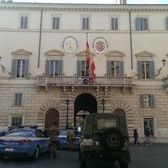 Photo taken at Embajada De España Ante La Santa Sede by Curt M. on 1/20/2014