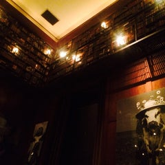 Photo taken at The Library at Hudson Hotel by Pan P. on 8/6/2015