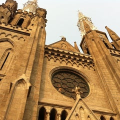 Photo taken at Gereja Katolik Katedral Jakarta by maretta d. on 9/23/2012