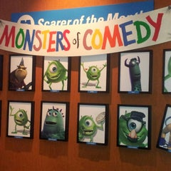 Photo taken at Monsters, Inc. Laugh Floor by Cristina C. on 7/18/2013
