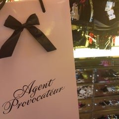 Photo taken at Agent Provocateur by Elena on 7/9/2012