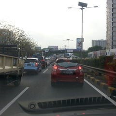 Photo taken at Samsat Polda Metro Jaya by Sandy N. on 10/18/2014