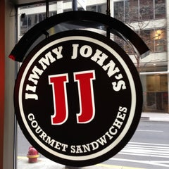 Photo taken at Jimmy John's by Lucas R. on 1/5/2013