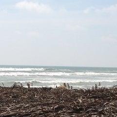 Photo taken at Playa Bonfil by marita f. on 9/16/2012