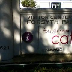 Photo taken at Forsyth Park Cafe by Juliana P. on 10/16/2012